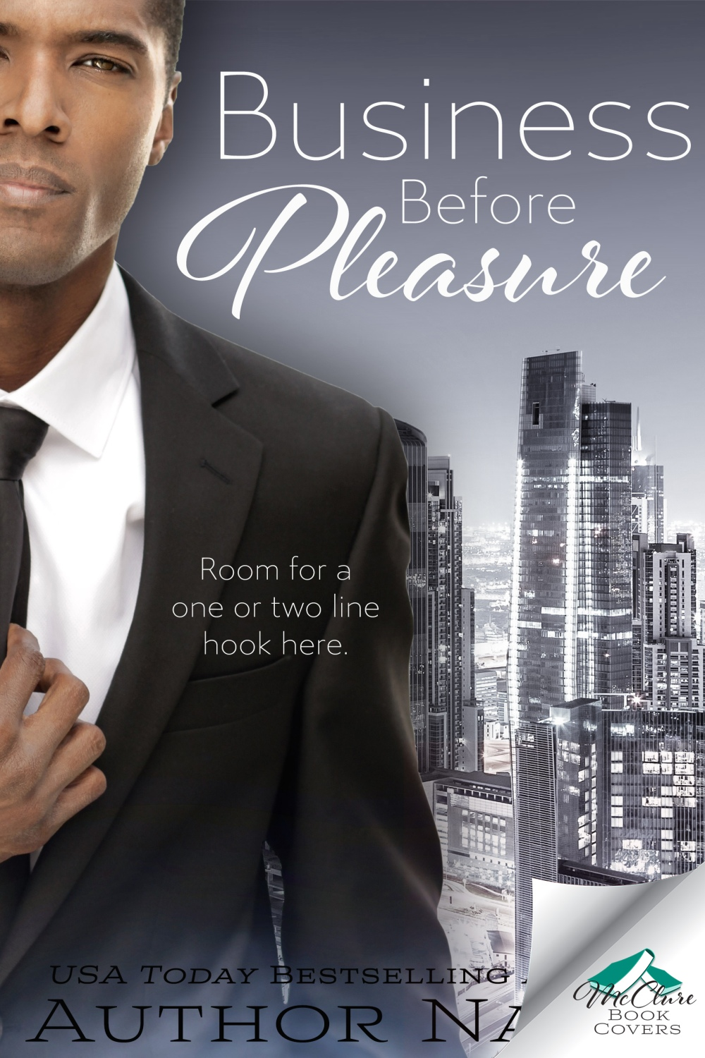 Business Before Pleasure with Cover Flip