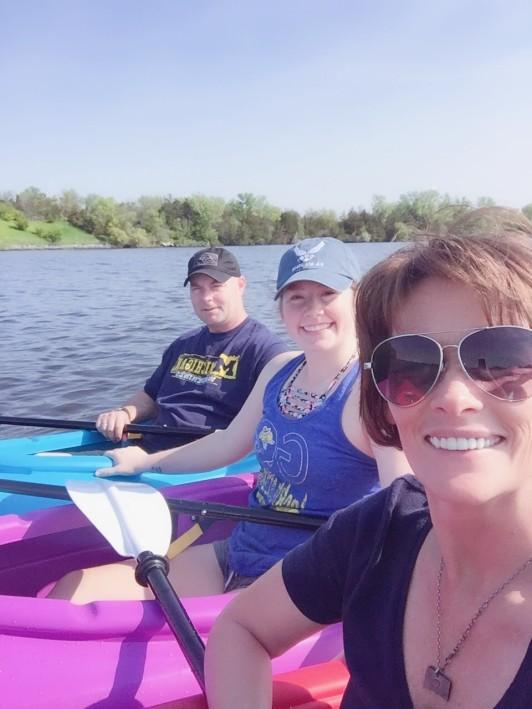 Torrey Kate Me Kayak